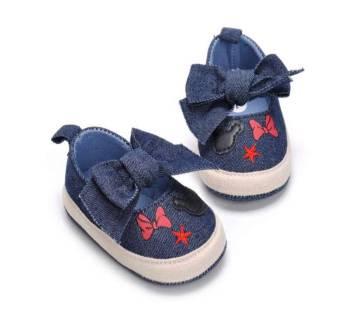 Baby Girls Denim Shoes Casual Sneaker