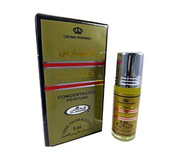 Al Rehab Perfumes Roll-on AL FARES Concentrated Attar (6 ml)