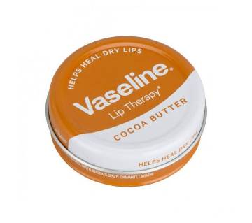 Vaseline Lip Therapy Cocoa Butter 20g UK
