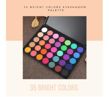 Morphe 35 Colour Frost Eye Shadow Palette  35E USA
