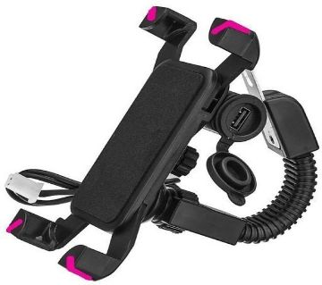 Mobile phone Charger Holder for bike, bicycle