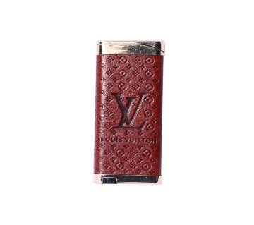 Metal Louis Vuitton Lighter - Coffee