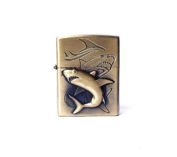 Metal Shark Lighter - Golden