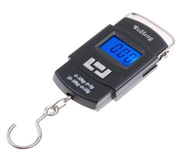 Portable Weight Scale - Black