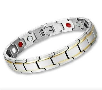 Silver Stainless Steel Bracelet for Men