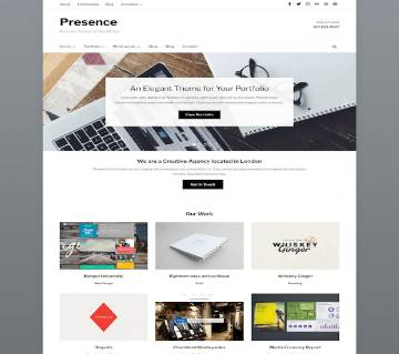 Presence  WPZOOM WordPress Theme