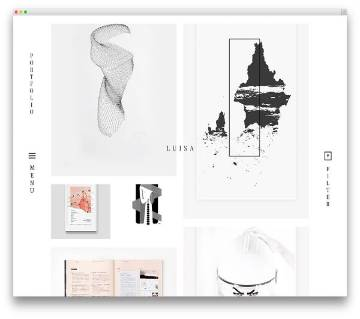 Ocularus - Minimal WordPress Theme for Photograph