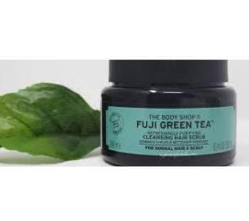 Fuji Green Tea Refreshingly Purifying Cleansing Hair Scrub 240ml UK
