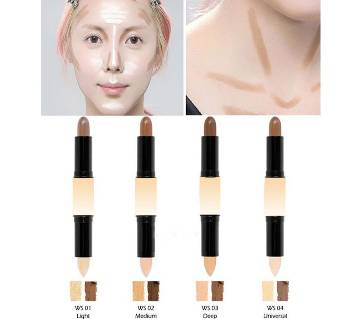 2-In-1 Fashion Contour Stick Concealer Makeup Cover - china