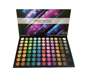 Miss Rose 88 Matte 3D Eyeshadow Palette - china