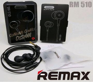Remax RM 510 High Performance Earphones
