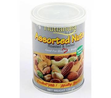 Nutlandia Assorted Nuts- Roasted & Salted 135grm USA