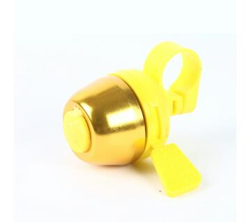 Bicycle alloy bell -Yellow