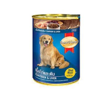 SmartHeart Dog Food Beef & Liver Can 400gm