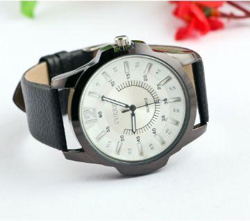 Curren White Dial Mens Casual Wrist Watch