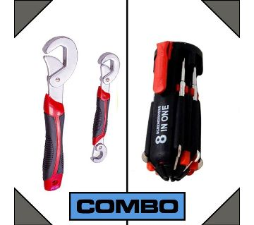 SNAP N GRIP 8 IN 1 screw driver combo
