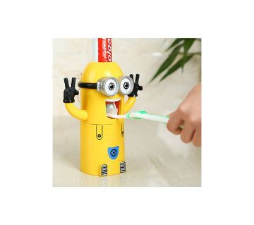 Minion toothpest dispensar