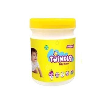 Twinkle Baby Wipes Jar 160pcs