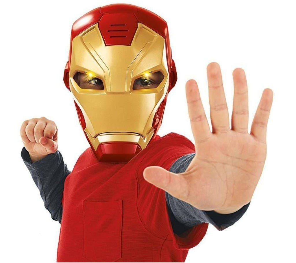 Iron Man মাস্ক LED লাইট মাস্ক বাংলাদেশ - 940431