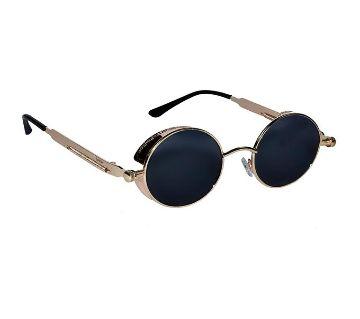 Golden Steel Sunglasses for women