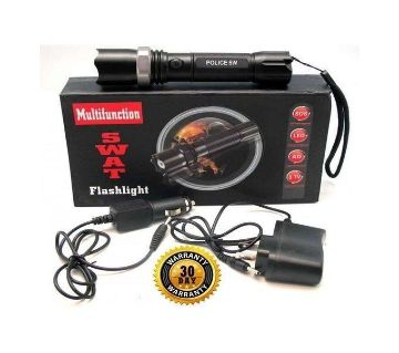 Swat Army Rechargeable Flash Light