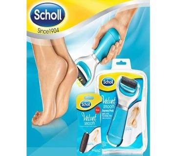 Scholl Velvet Smooth Electronic Foot Cleaner