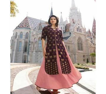 Vinay Tumbaa Europe Readymade Banarasi Kurti for Women