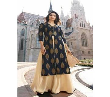 Vinay Tumbaa Europe Readymade Banarasi Kurti for Women