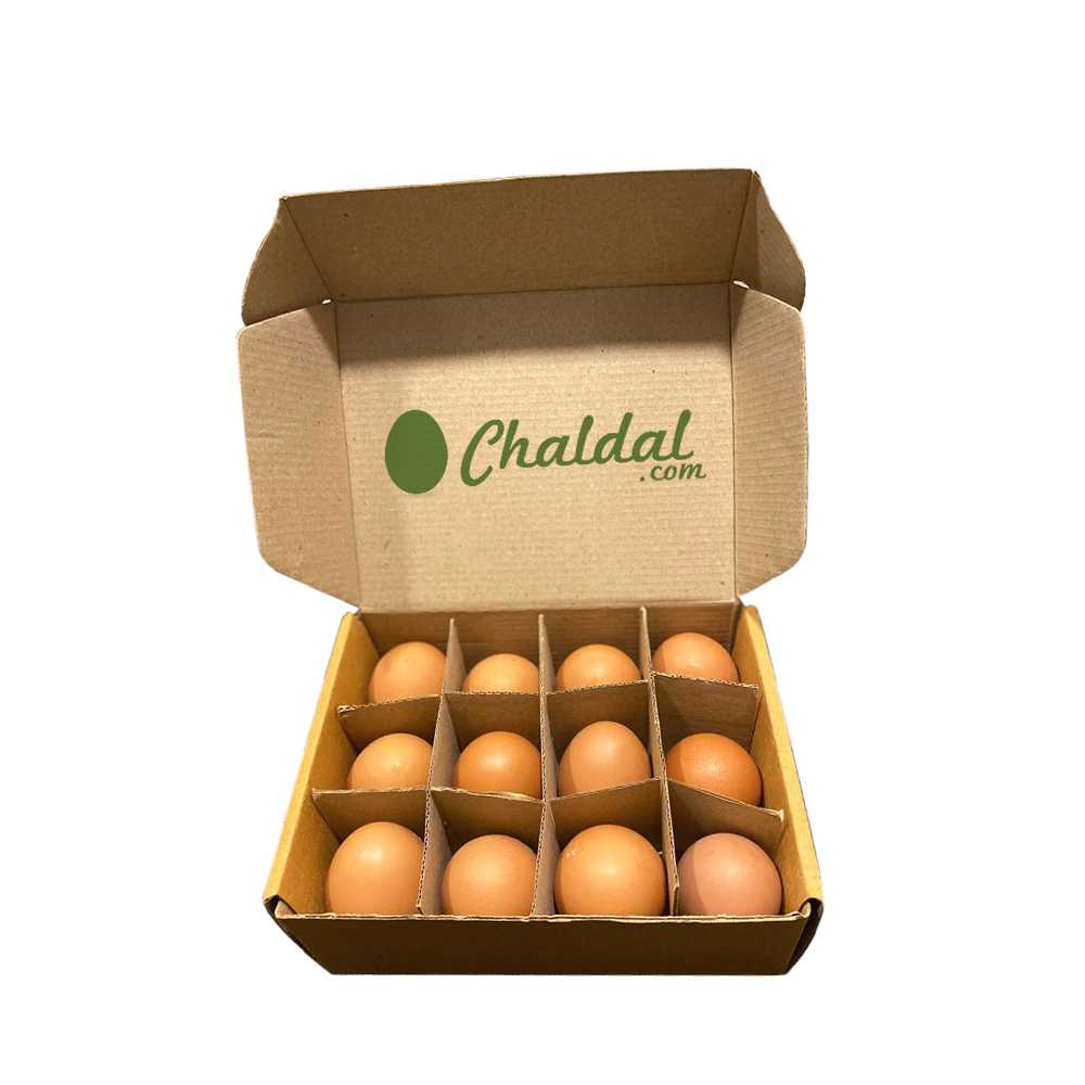 Chicken Eggs (Layer) 12 pcs