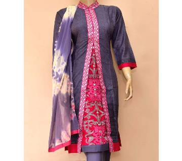 Ready Made Printed Soft Georgette Three Piece