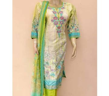 Ready made Pakistani Lawn Three piece