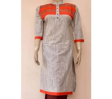 Ready made cotton long kurti