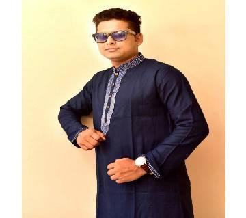 Menz Cotton Semi Long Panjabi