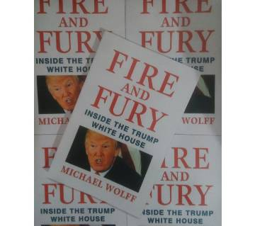 Fire and Fury: Inside Donald Trumps house. (Local Print)