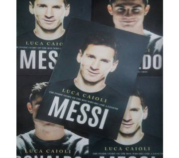 Messi The Inside Story of A Boy Who Became A Legend by Luca Caioli. Local Print.