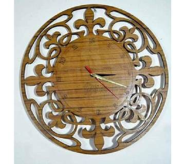ORR Sell PoinT-Craft BD Wooden Wall Watch-002