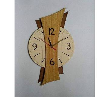 ORR Sell Craft BD Wall Watch Wooden -008