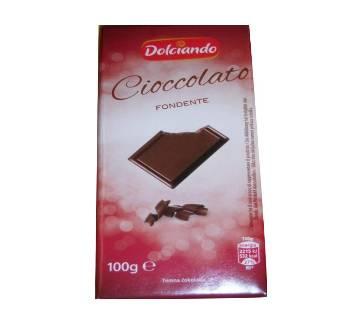 Dolciando Cioccolato FONDENTE 100gm Italy