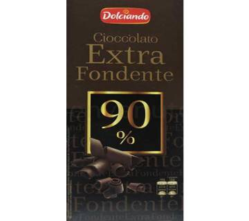 Dolciando chocolate  Extra Fondente 90% 100g Italy