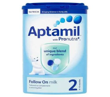 Aptamil 2 Follow On Milk Powder 900gm - India