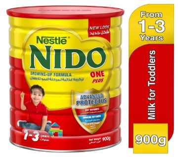 Nestle Nido 1+ Growing-up milk for toddlers Tin (900grm)