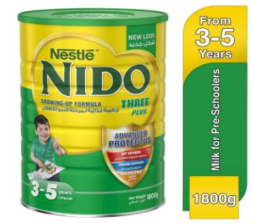Nestle Nido 3+ Pre-School Milk Formula with honey Tin (1800grm)