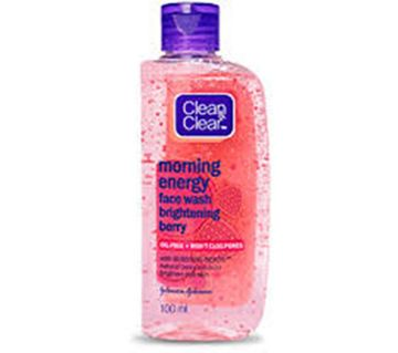 Clean&Clear Morning Energy Face Wash-Brightening Berry-100ml-UK