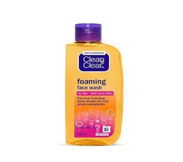 Clean & Clear Foaming Facial Wash - 100ml - UK