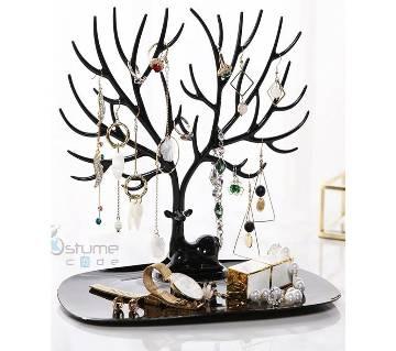 Jewelry Display Stand Tray Tree Storage Racks