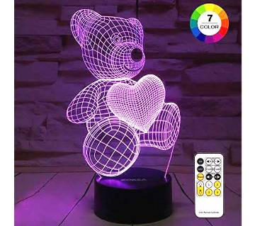 3D Visualization Creative lamp remote control light