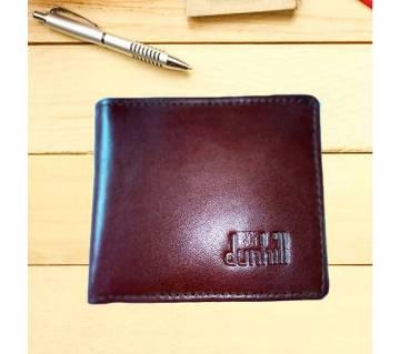 Soft money bag for men chocolate color