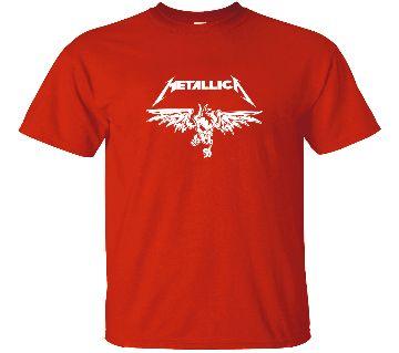Metallica Cotton Round neck  t-shirt