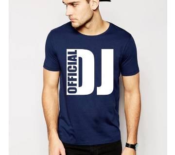 Official DJ Round neck  t-shirt