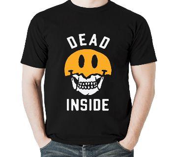 Mens Defcef Cotton Round Neck  t-shirt